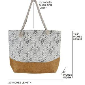 Justin & Taylor Bags - Queen B Tote Bag
